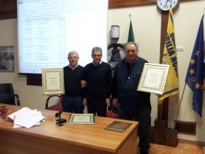 Premiazione dei Consiglieri Onorari